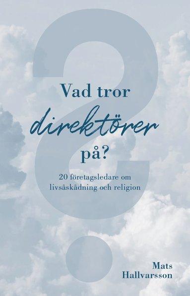 bokomslag Vad tror direktörer på : 20 företagsledare om livsåskådning och religion