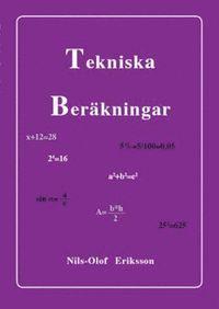 bokomslag Tekniska Beräkningar