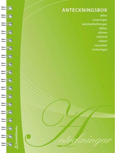 bokomslag Anteckningsbok - 192 sidor anteckningsmöjligheter