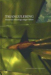 bokomslag Triangulering : historisk arkeologi vidgar fälten