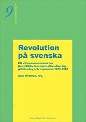 bokomslag Revolution på Svenska