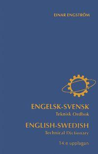 bokomslag Engelsk-svensk teknisk ordbok
