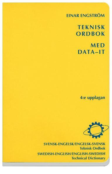 bokomslag Teknisk ordbok med data-IT : Svensk-engelsk/Engelsk-svensk