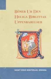 bokomslag Böner ur den heliga Birgittas uppenbarelser
