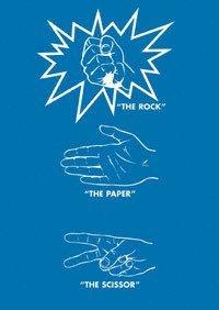 bokomslag The total action game : rock - paper - scissor