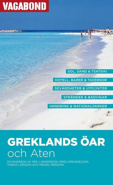 bokomslag Greklands öar och Aten Vagabond reseguide