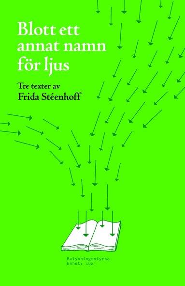 bokomslag Blott ett annat namn för ljus : tre texter