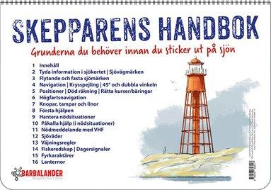 bokomslag Skepparens handbok – Grunderna du behöver innan du sticker ut på sjön