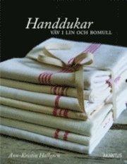 bokomslag Handdukar - väv i lin och bomull