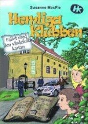 bokomslag Hemliga Klubben - Fallet med den värdefulla kartan