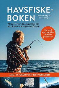 bokomslag Havsfiskeboken : allt du behöver veta om sportfiske från båt i Skagerrak, Kattegatt och Öresund