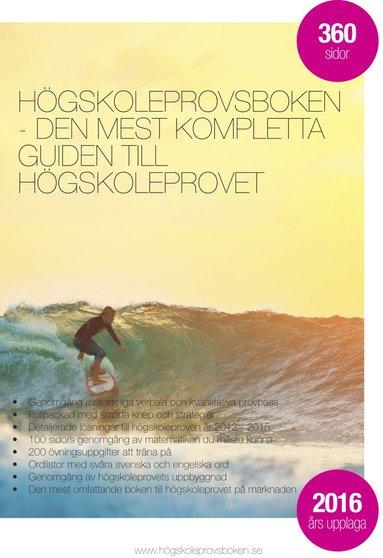 bokomslag Högskoleprovsboken - Den mest kompletta guiden till högskoleprovet