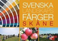 bokomslag Svenska landskapsfärger Skåne