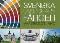 bokomslag Svenska landskapsfärger Västergötland