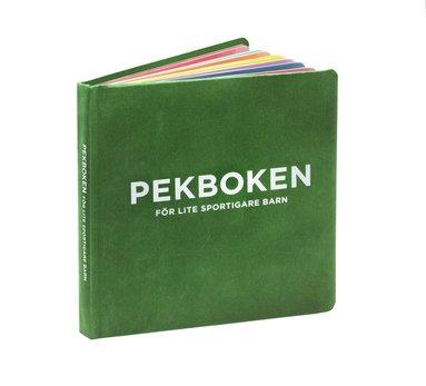 bokomslag Pekboken för lite sportigare barn