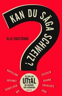 bokomslag Kan du säga Schweiz? : en bok om uttal på svenska och utländska