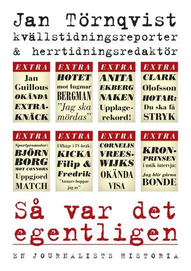 bokomslag Så var det egentligen : en journalists historia