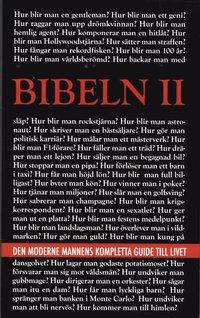 bokomslag Bibeln II : den moderne mannens kompletta guide till livet