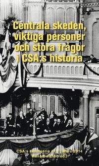 bokomslag Centrala skeden, viktiga personer och stora frågor i CSA:s historia