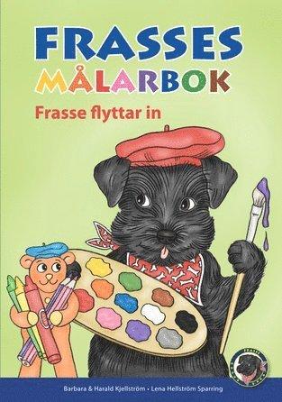 bokomslag Frasses flyttar in - målarbok