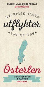 bokomslag Sveriges bästa utflykter enligt oss - Österlen 2017-18
