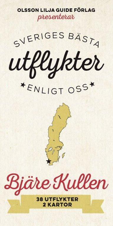 bokomslag Sveriges Bästa Utflykter Bjäre Kullen 2018-2019