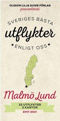 bokomslag Sveriges bästa utflykter enligt oss - Malmö Lund 2019-2021