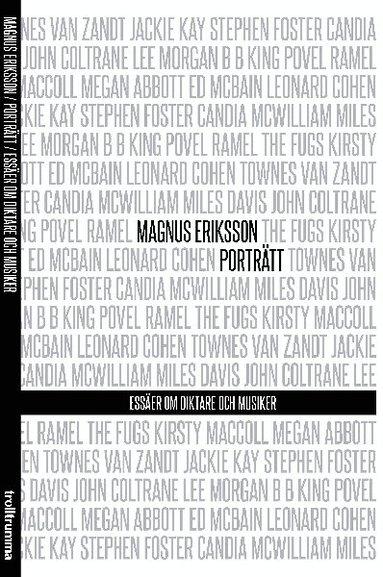 bokomslag Porträtt : essäer om diktare och musiker