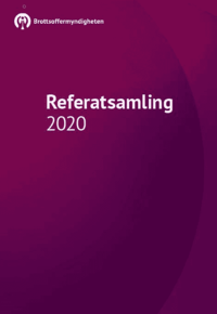 bokomslag Brottsoffermyndighetens referatsamling 2020 :