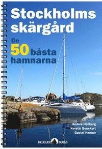 bokomslag Stockholms skärgård - de 50 bästa hamnarna