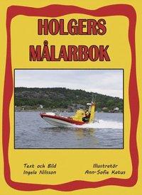 bokomslag Holgers gula Målarbok - Måla med Holger och sjöräddnigen