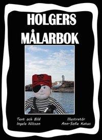 bokomslag Holgers svarta målarbok - Måla med Holgers Bästisar
