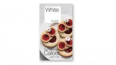 bokomslag White Guide Café. Sveriges bästa caféer 2017-18