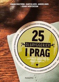 bokomslag 25 ölbryggerier i Prag