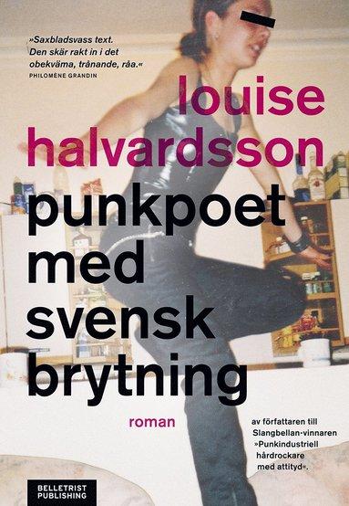 bokomslag Punkpoet med svensk brytning
