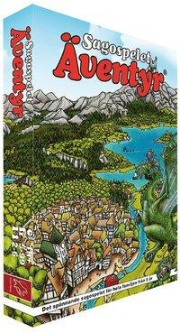 bokomslag Sagospelet Äventyr (startbox)