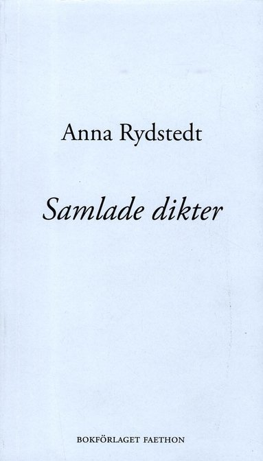 bokomslag Samlade dikter