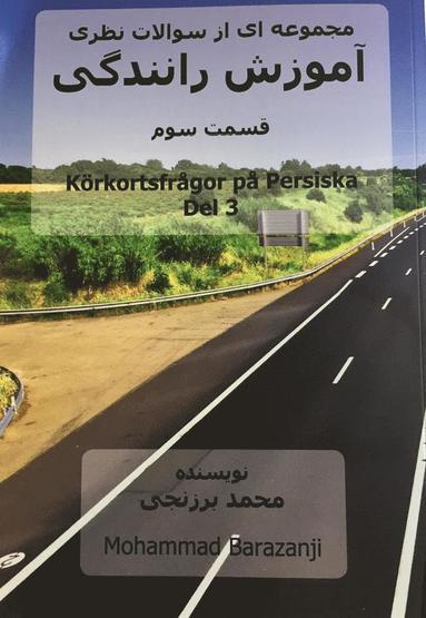 bokomslag Körkortsfrågor på Persiska del 3