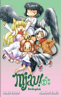 bokomslag Mjau! 1-4, samlingsbok