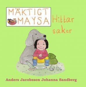 bokomslag Mäktigt Maysa - Hittar saker