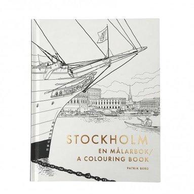 bokomslag Stockholm : en målarbok / a colouring book