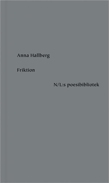 bokomslag Friktion