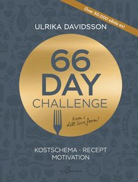bokomslag 66 day challenge : kostschema, recept, motivation