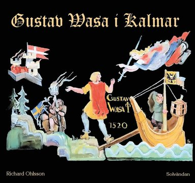 bokomslag Gustav Vasa i Kalmar