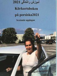 bokomslag Körkortsboken på Persiska 2021