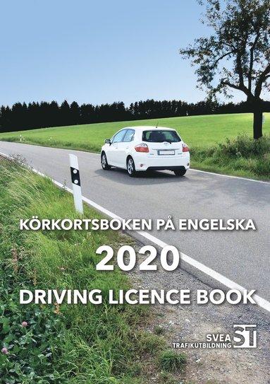 bokomslag Körkortsboken på engelska 2020 / Driving licence book