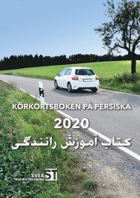 bokomslag Körkortsboken på persiska 2020