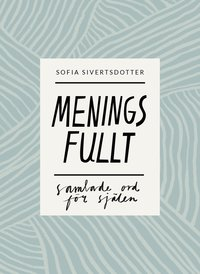 bokomslag Meningsfullt : samlade ord för själen