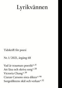 bokomslag Lyrikvännen 1(2021)