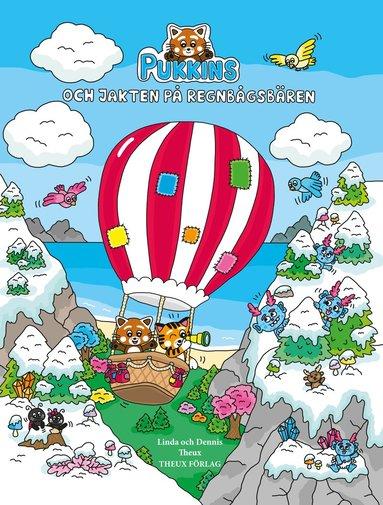 bokomslag Pukkins och jakten på regnbågsbären